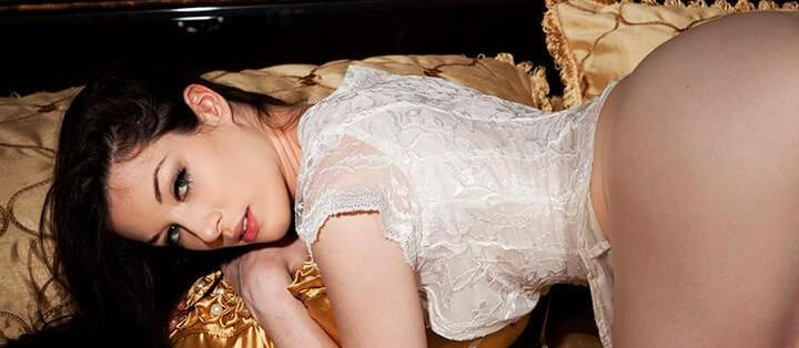 Stoya in Bed