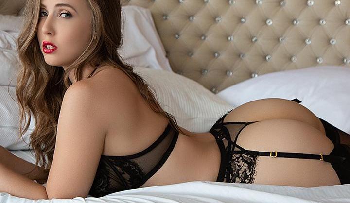 Lena Paul in Bed